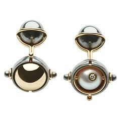 Cufflinks Akoya Pearls by Elie Top