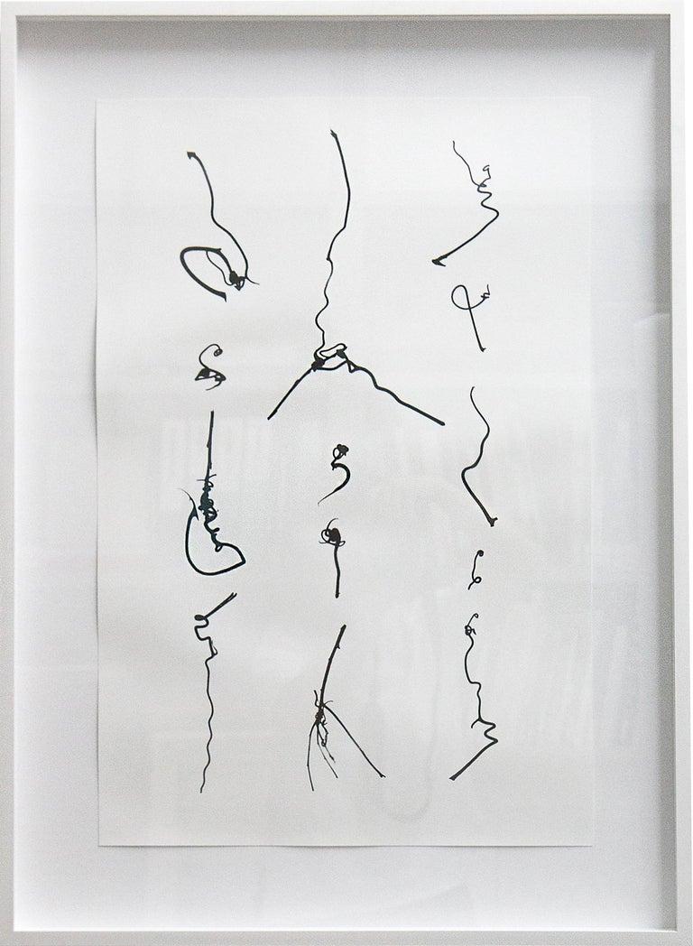 Cui Fei Abstract Print - Tracing the Origin IX_I_i
