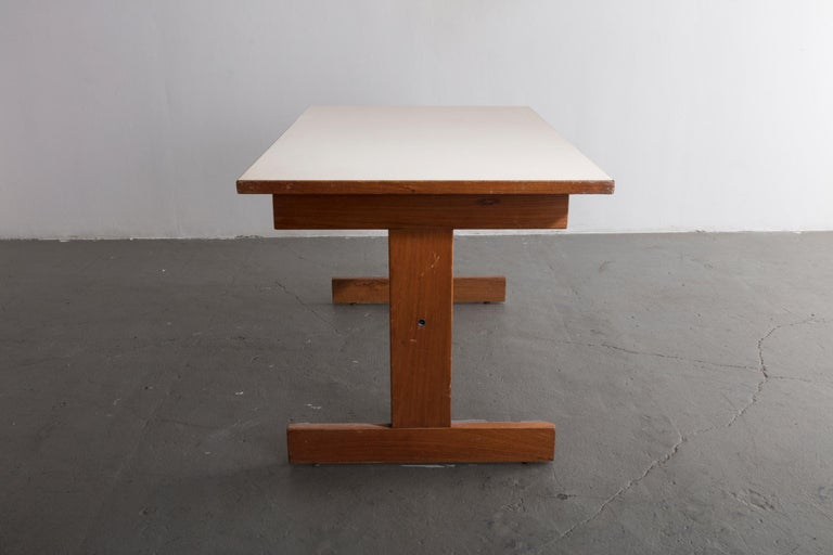 Brazilian Cuiabá Series Dining Table in Caviona and Formica by Sergio Rodrigues, 1985 For Sale