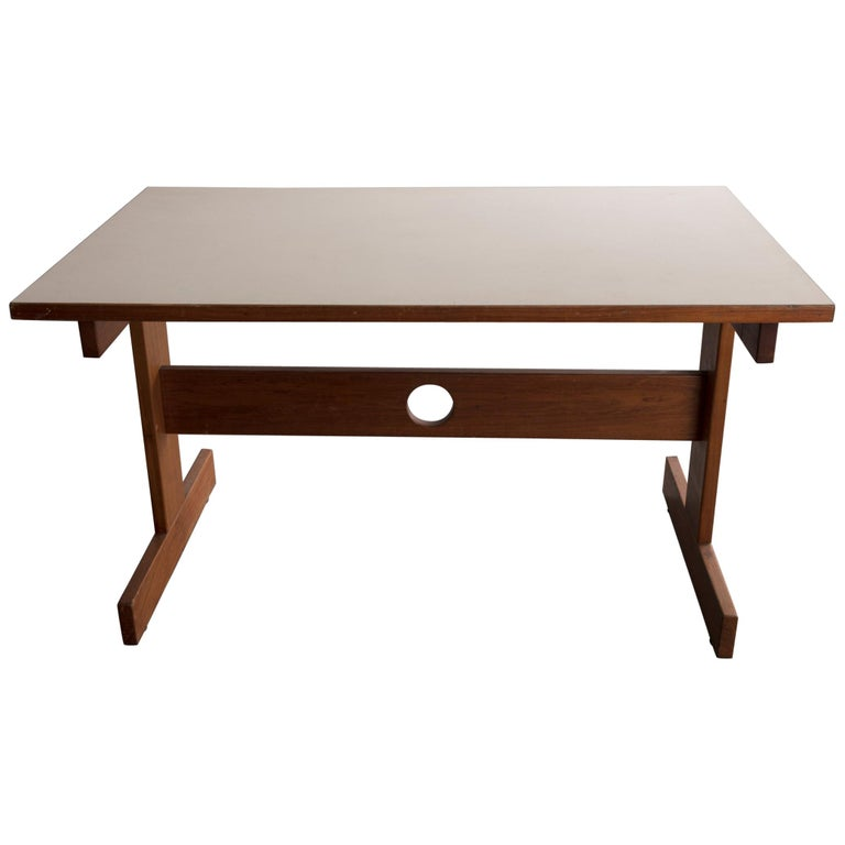Cuiabá Series Dining Table in Caviona and Formica by Sergio Rodrigues, 1985 For Sale