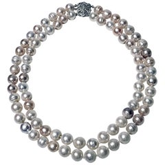 Cultured Pearl Double Necklace