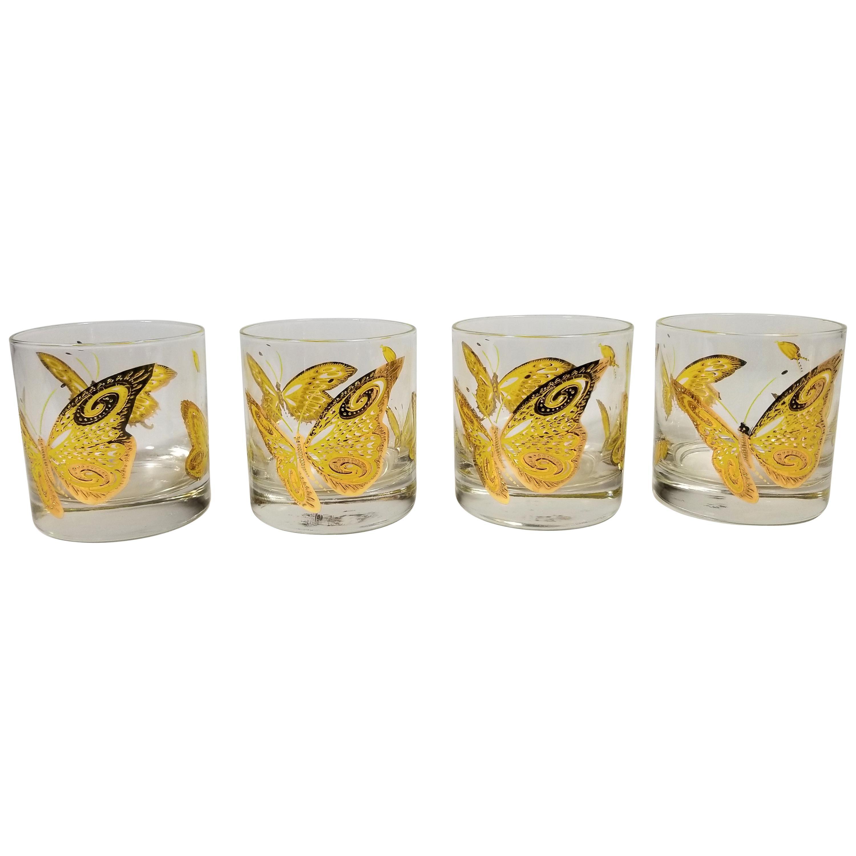 Culver 22-Karat Gold Midcentury Barware or Glassware