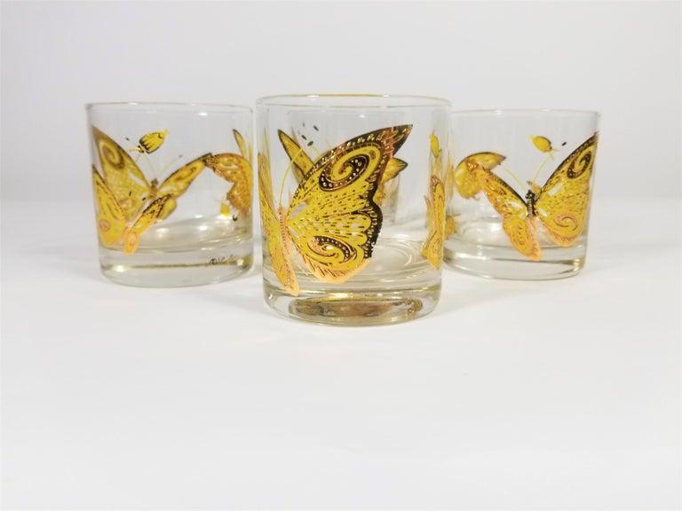 Culver 22-Karat Gold Midcentury Barware or Glassware For Sale 5