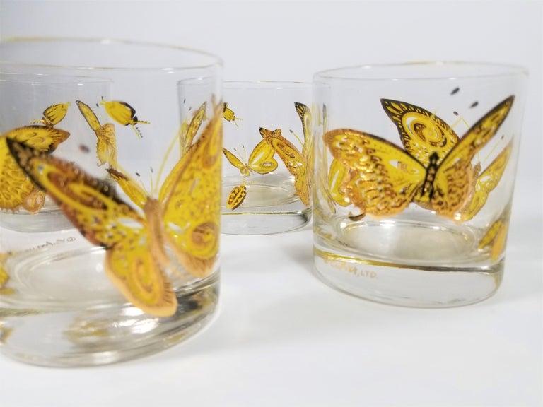 Culver 22-Karat Gold Midcentury Barware or Glassware For Sale 6
