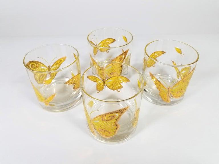 Culver 22-Karat Gold Midcentury Barware or Glassware For Sale 8
