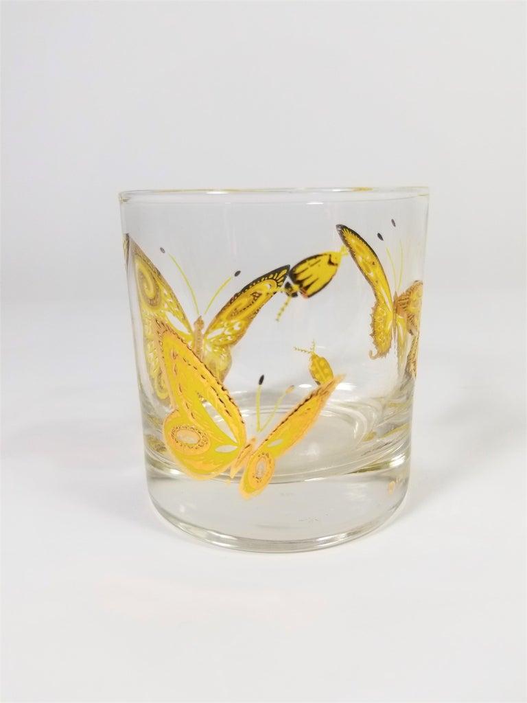 Culver 22-Karat Gold Midcentury Barware or Glassware For Sale 2
