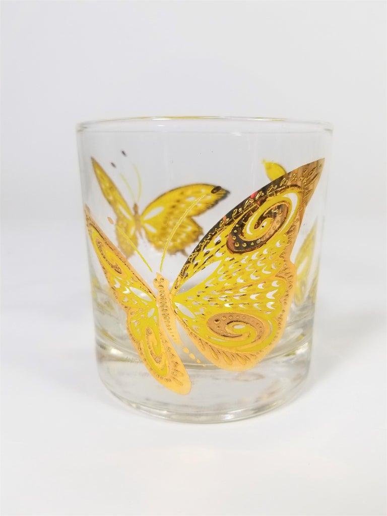 Culver 22-Karat Gold Midcentury Barware or Glassware For Sale 3
