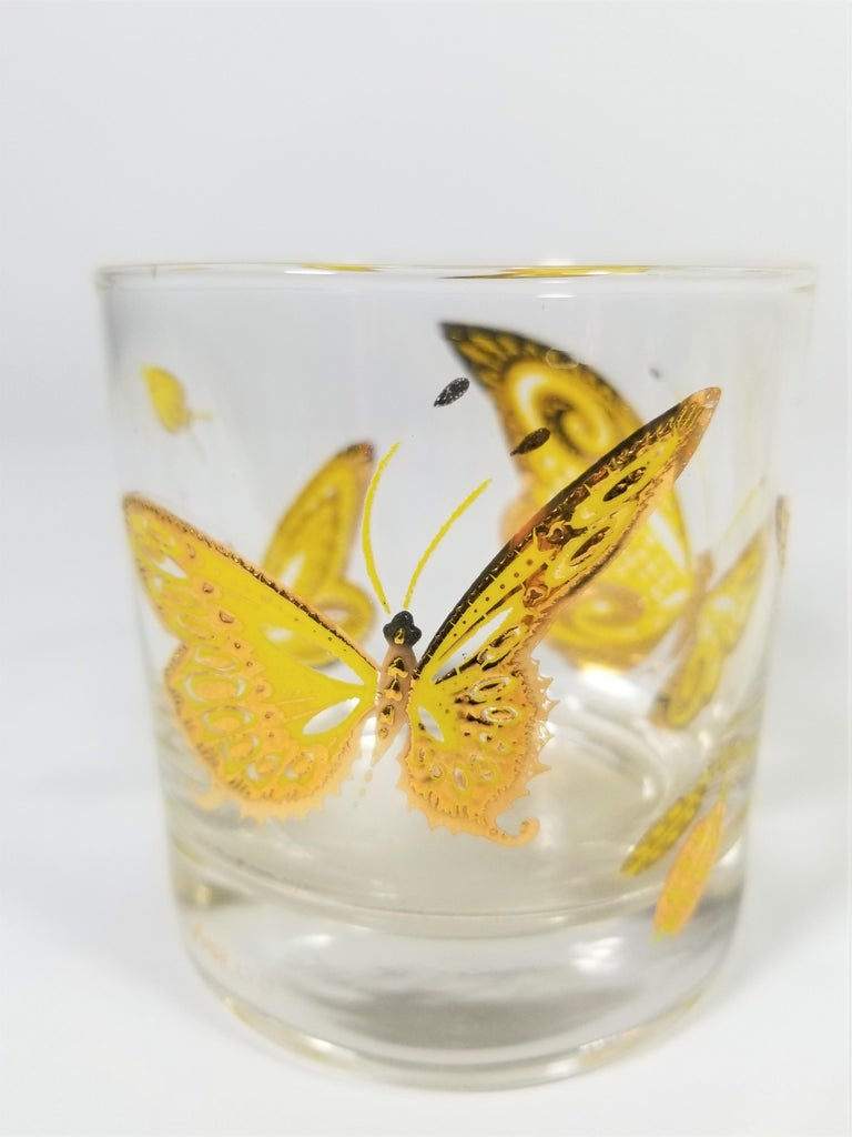 Culver 22-Karat Gold Midcentury Barware or Glassware For Sale 4