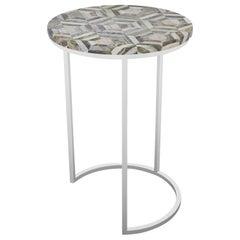 Culver Table, Half Moon