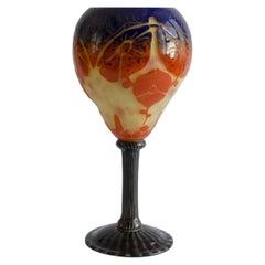Cup Le verre francais 'Pegonias' Art Deco  Charles Schneider