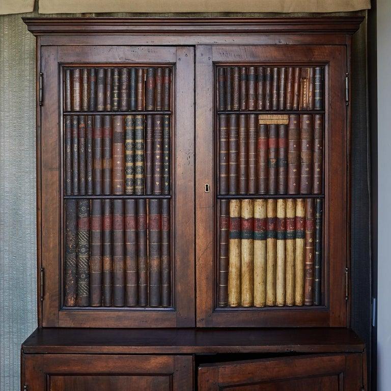 An Italian books cupboard.