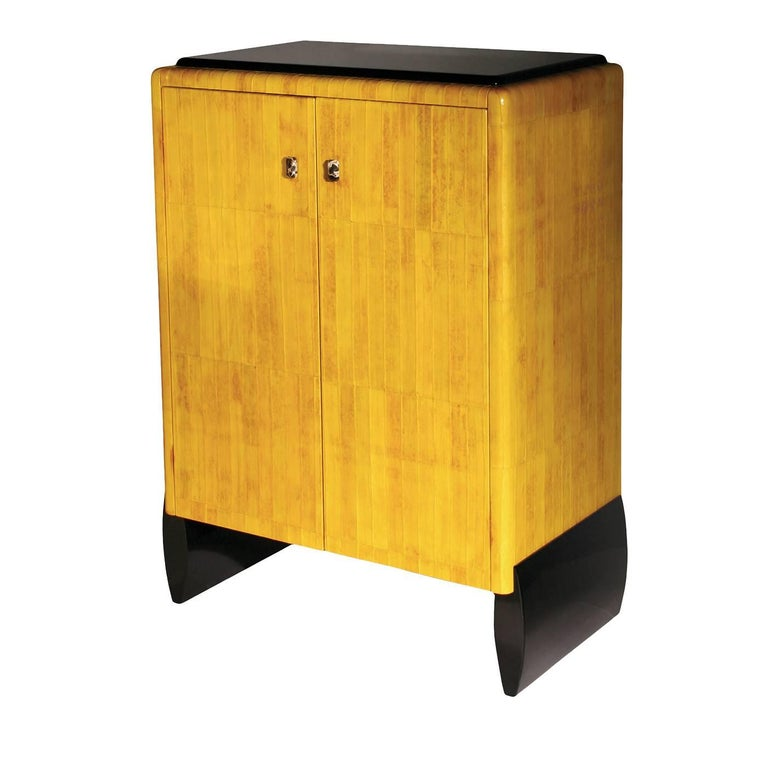 Cupboard with Eel Skin