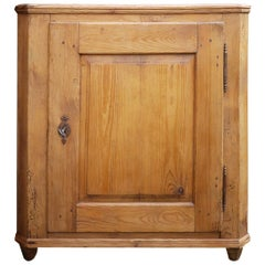 Cupboard with One Door, Fir, circa 1815, Italy