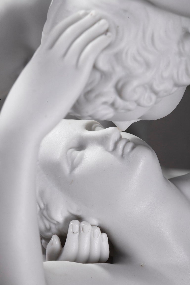 Cupid and Psyche by Scheibe-Alsbach Manufactory 9
