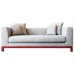 Cupido Small Off-White Sofa by Bosco Fair