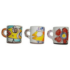 Cups by Giovanni DeSimone, Italy, C 1960, Expresso Cups
