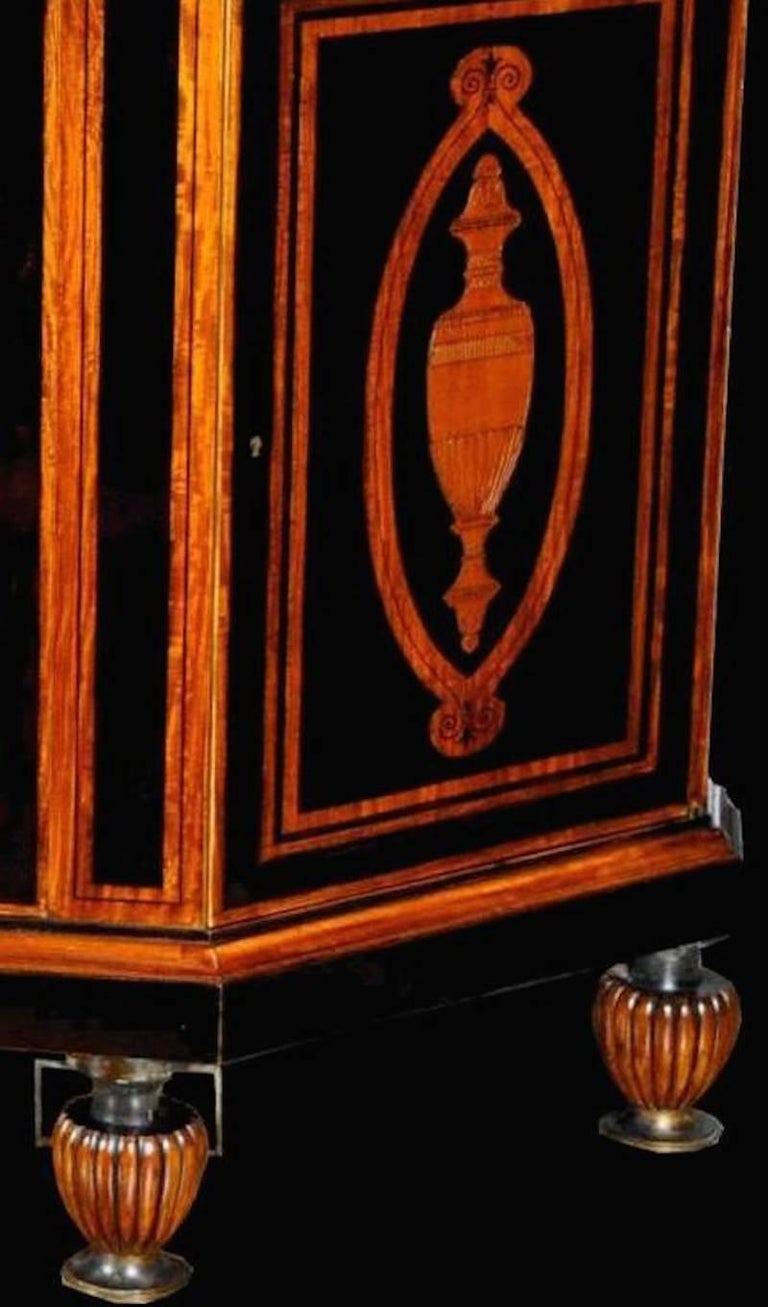 Neoclassical Curious French Sideboard Signed E. Duru For Sale