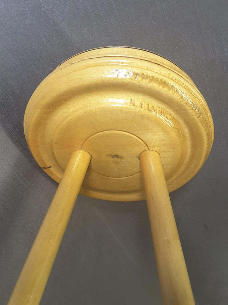Curling Bonspiel Trophy Stand-Up Ashtray Early, 1960s For Sale 4