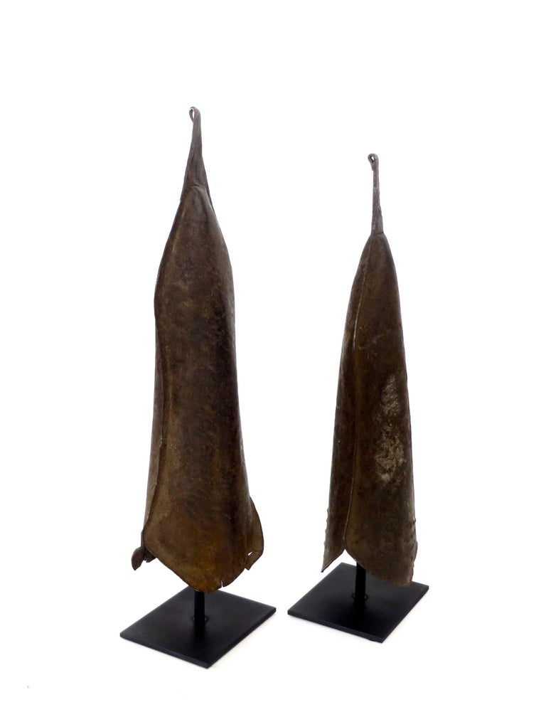 Currency Gongs Sculptures from Congo, Nkutshu Culture, 19th Century In Good Condition For Sale In Chicago, IL