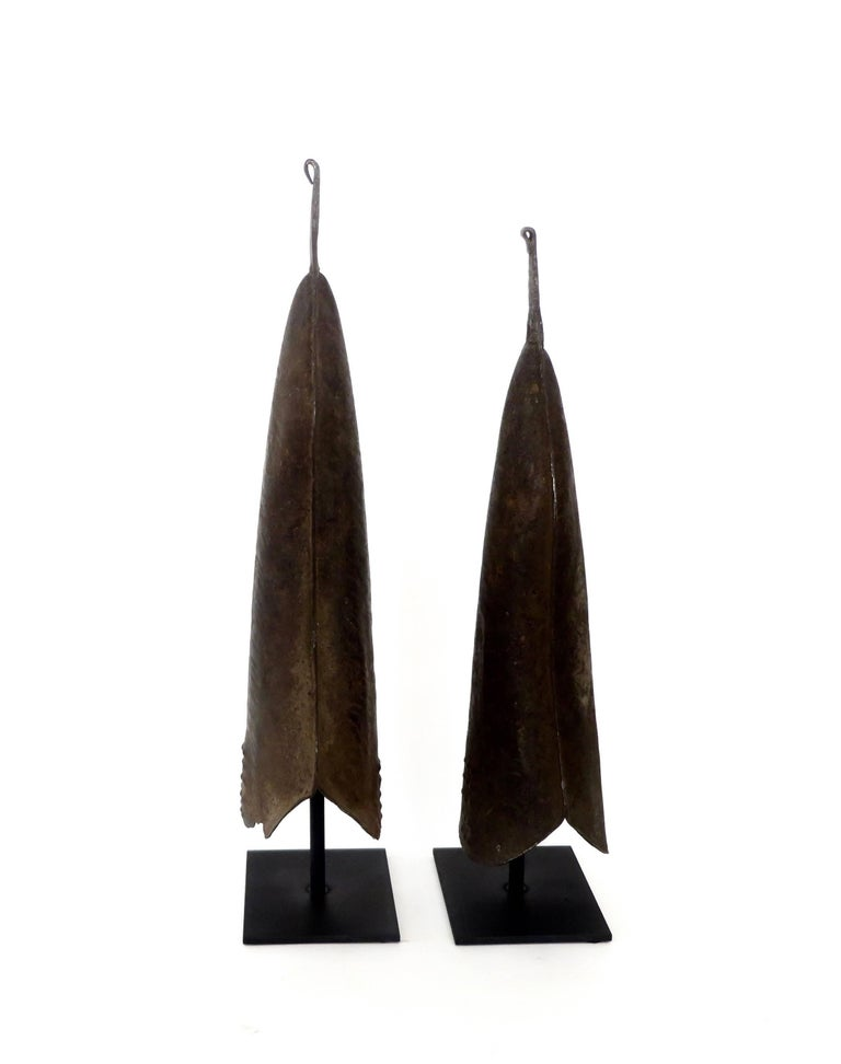 Currency Gongs Sculptures from Congo, Nkutshu Culture, 19th Century For Sale 1