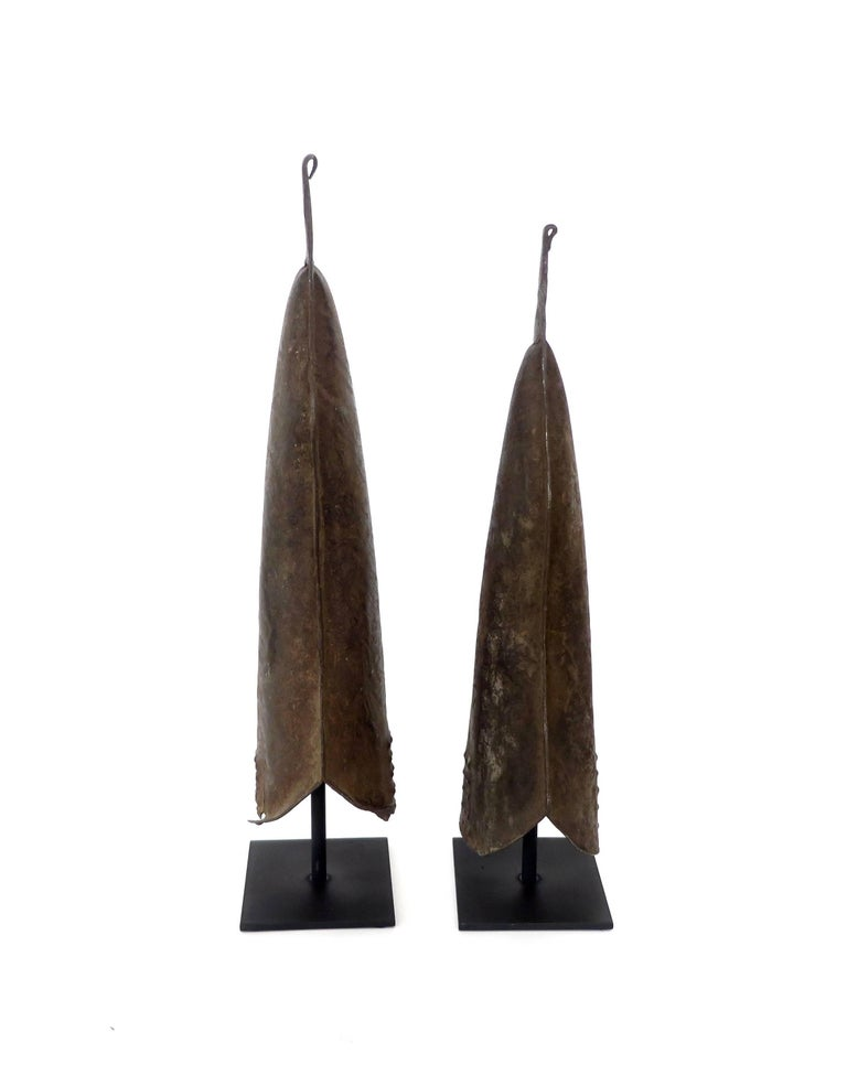 Currency Gongs Sculptures from Congo, Nkutshu Culture, 19th Century For Sale 2