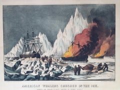 American Whalers Crushed in the Ice.