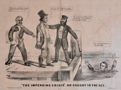 CURRIER & IVES - 1860 LINCOLN ELECTION CAMPAIGN