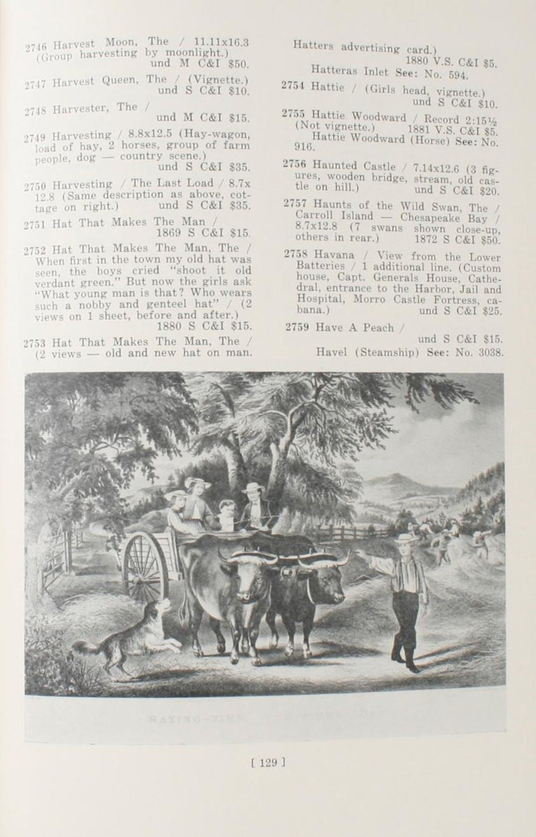 Currier & Ives Prints An Illustrated Check List by Frederic Conningham 1st Ed For Sale 8