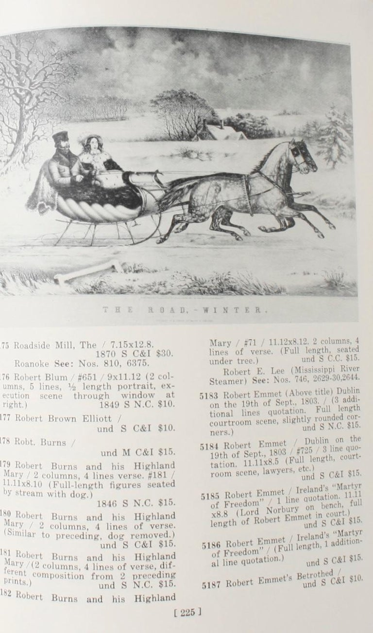 Currier & Ives Prints An Illustrated Check List by Frederic Conningham 1st Ed For Sale 11