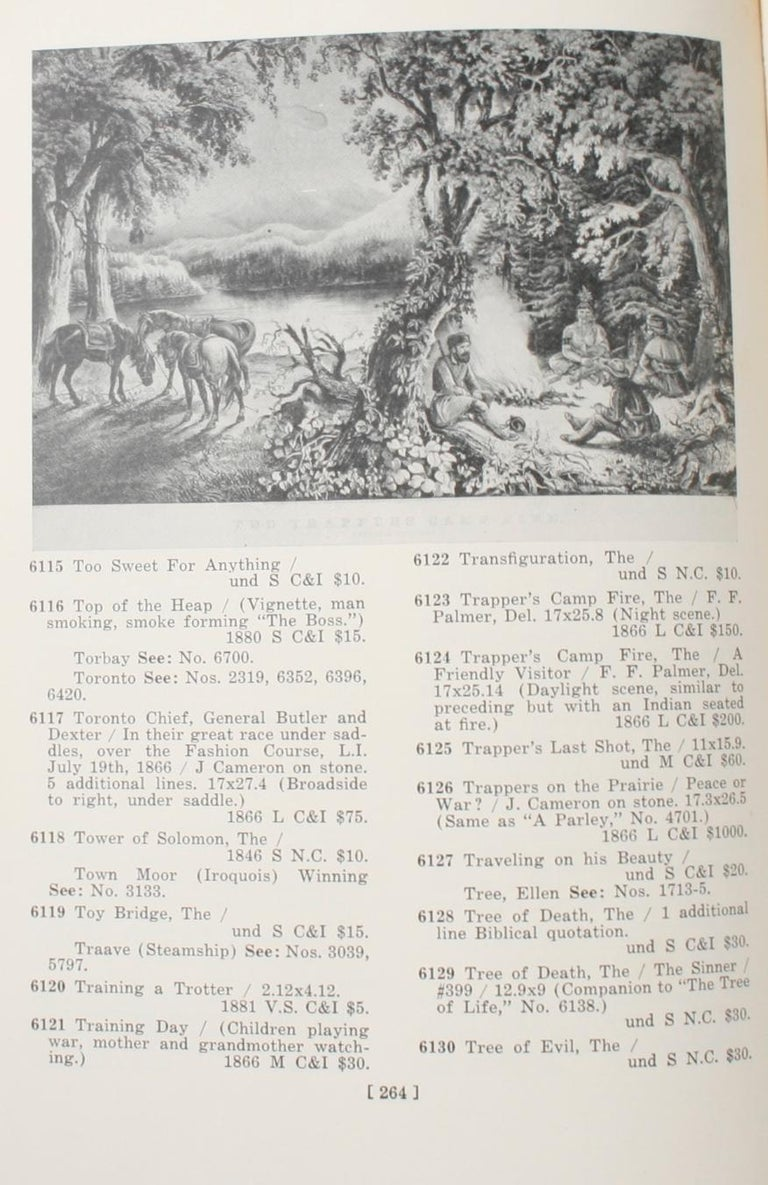 Currier & Ives Prints An Illustrated Check List by Frederic Conningham 1st Ed For Sale 12