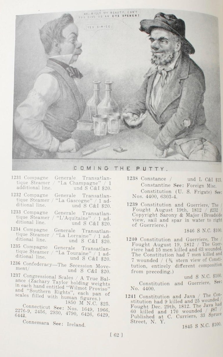 Currier & Ives Prints An Illustrated Check List by Frederic Conningham 1st Ed For Sale 2