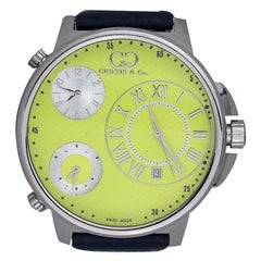 Curtis and Co Big Time Air Watch with 3-Time Zone, Brand New Swiss Made Movement