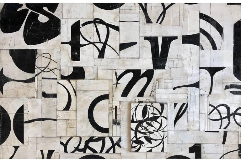 Curtis Cutshaw Abstract Painting - Nine Stories
