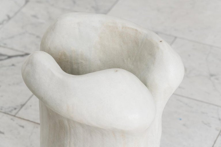 Curtis Fontaine's abstract ceramic sculptures are created through a unique process of hand building that relies as much on intuition as structural aptitude. Years apprenticing under American ceramic artist Toshiko Takaezu helped Fontaine develop a