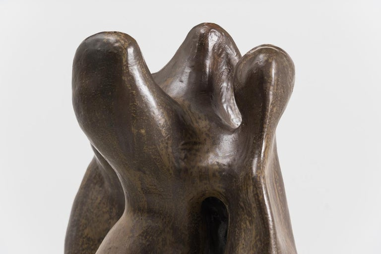Glazed Curtis Fontaine, Untitled Vessel #7, USA For Sale