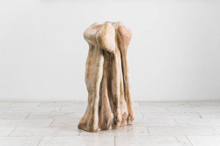 Glazed Curtis Fontaine, Untitled Vessel #8, USA For Sale