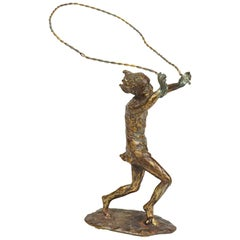 Curtis Jere American, 1910-2008 Jump Rope, Bronze