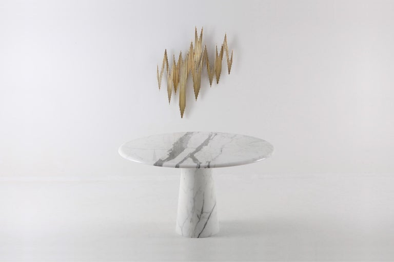 Curtis Jeré Brass Abstract Wall Sculpture 9