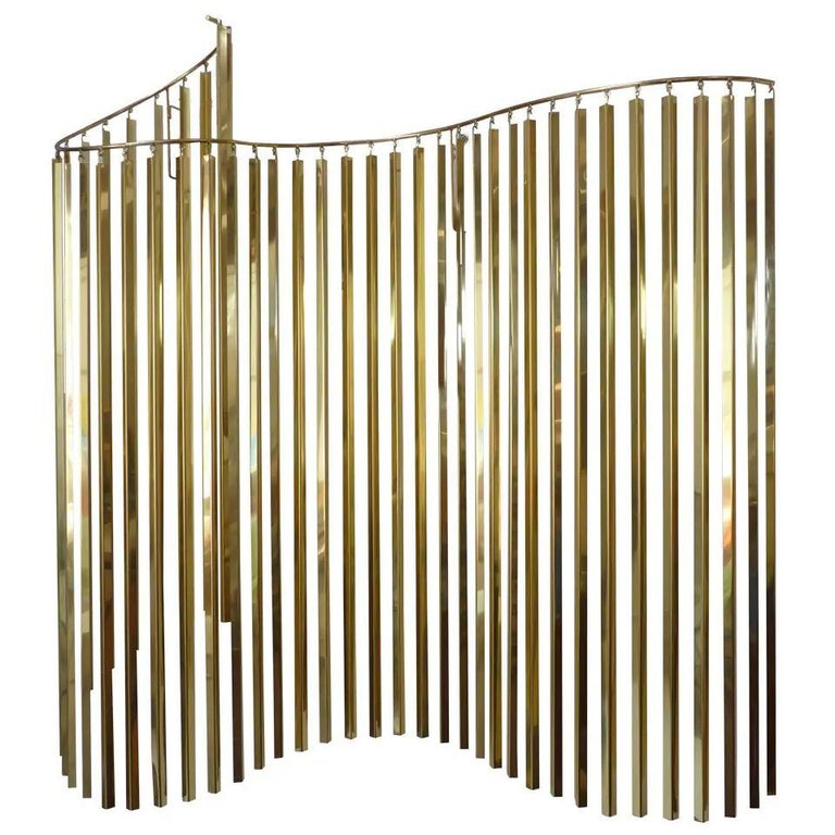 Curtis Jere Brass Kinetic Wave Wall Sculpture, Signed, 1983 For Sale 14