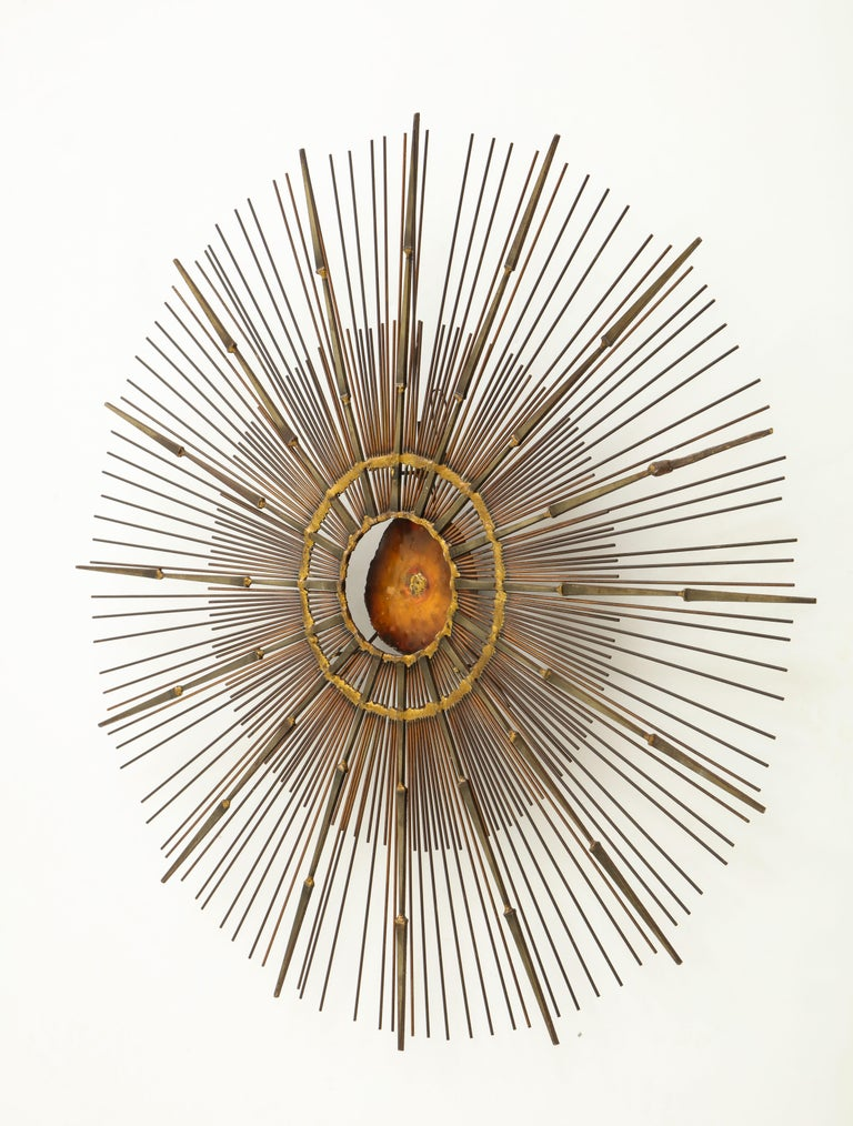 Curtis Jere Brass Wall Sculpture For Sale 6
