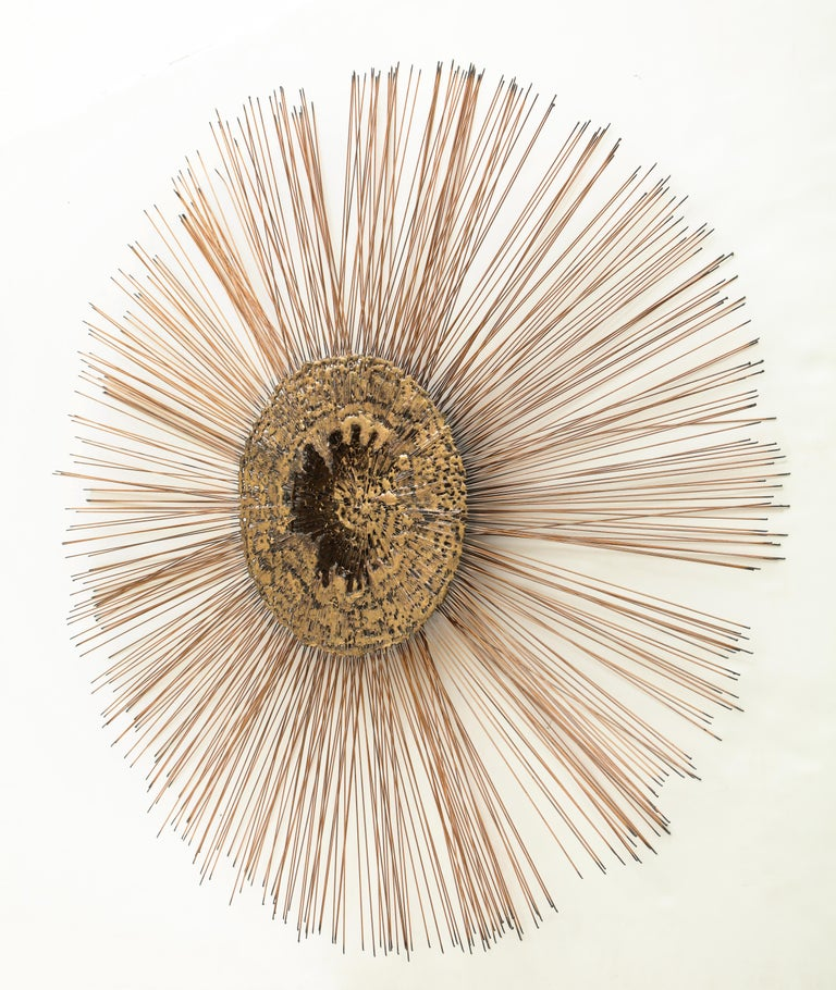 Curtis Jere Brass Wall Sculpture For Sale 5
