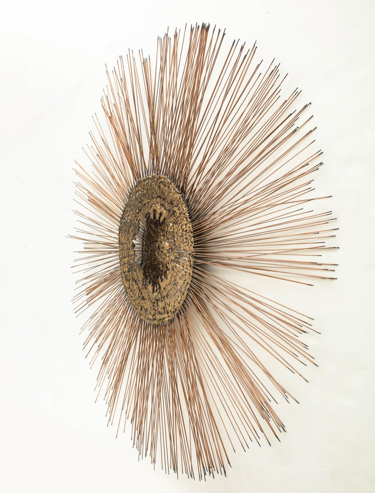 Curtis Jere Brass Wall Sculpture For Sale 7