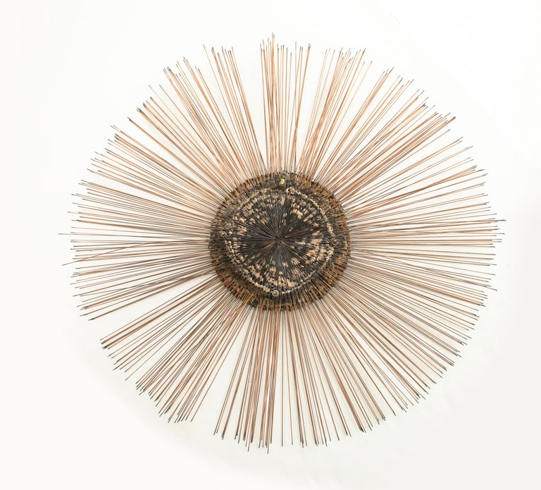 Curtis Jere Brass Wall Sculpture For Sale 2