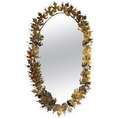 Curtis Jere Brutalist Wall Mirror