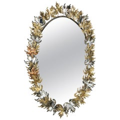 Curtis Jere Brutalist Wall Mirror