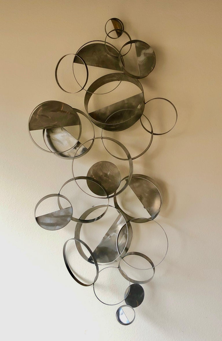 Curtis Jere Floating Ring Sculpture For Sale 1