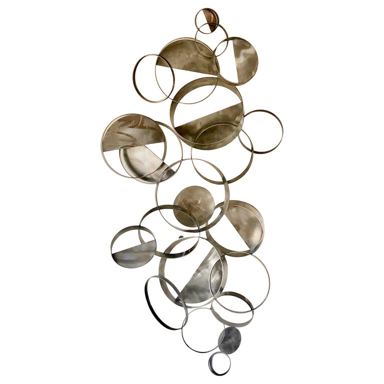 Curtis Jere Floating Ring Sculpture For Sale