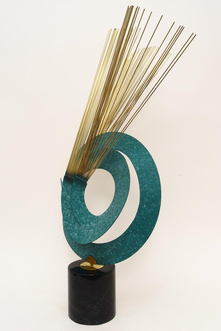 Mid-Century Modern Curtis Jere Kinetic Sculpture For Sale