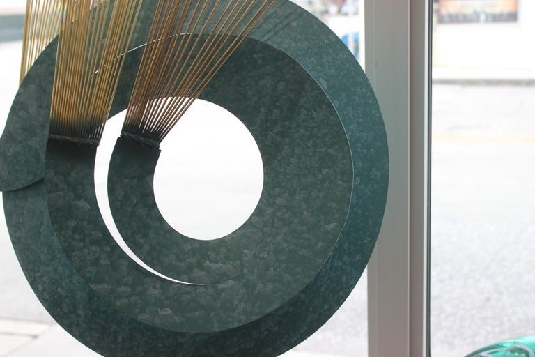 North American Curtis Jere Kinetic Sculpture For Sale