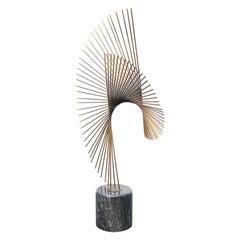 Curtis Jere Modernist Table Sculpture